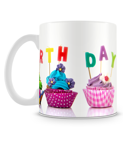 Cupcake Birthday Mug