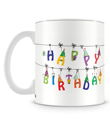Hanging Birthday Mug