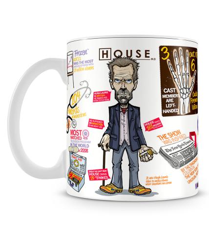 House Doodle Mug