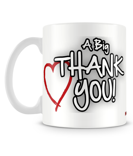 A Big Thank You Mug