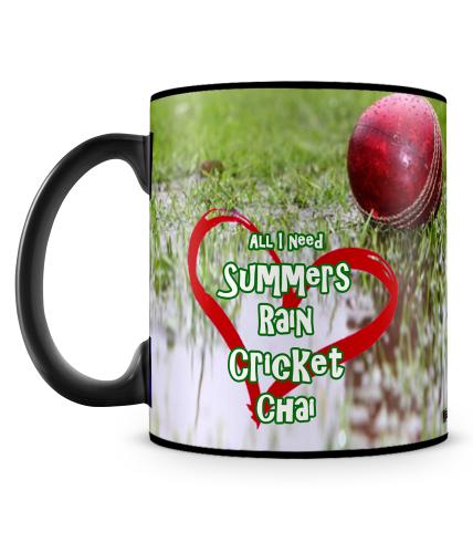 Summers Rain Cricket Chai Mug