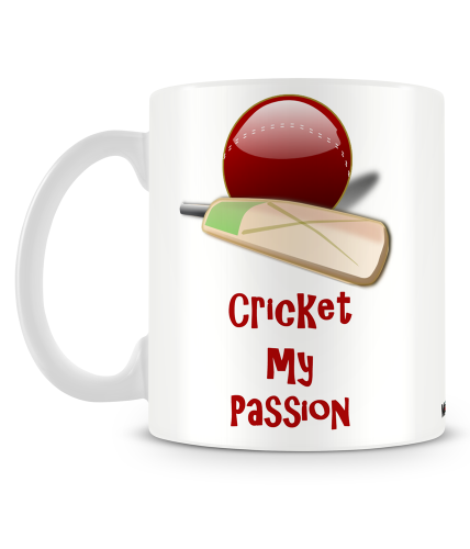 Cricket My Passion Mug