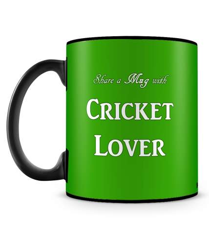 Cricket Lover Mug