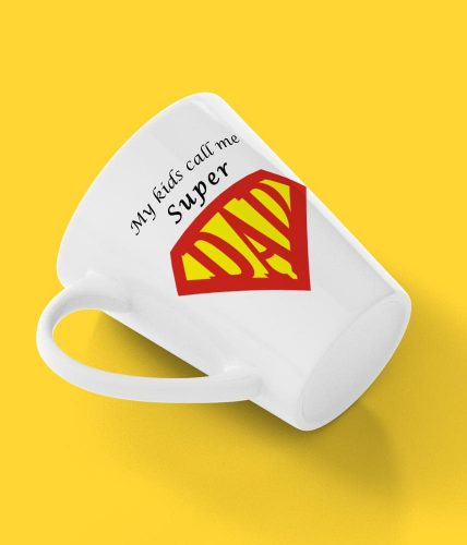 Kids Call Super Dad Mug