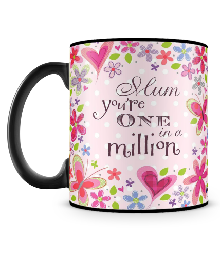 Mum One In A Million Mug