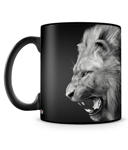 Better To Be A Lion Mug