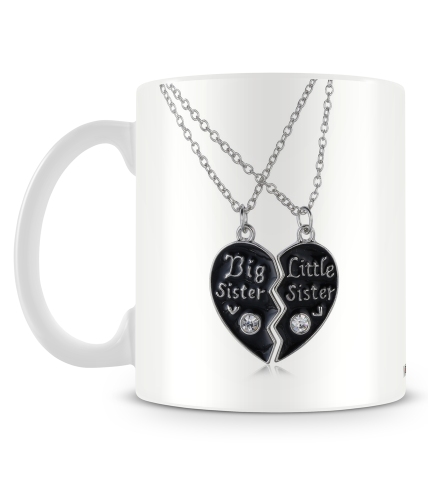 Sister Necklace Mug