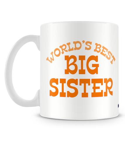 Best Big Sister Mug
