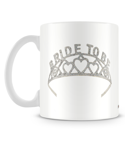 Bride To Be Crown Mug