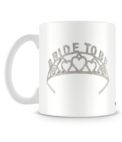 Bride To Be Crown Mug