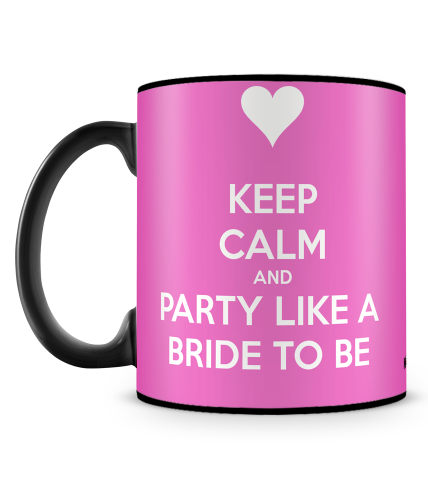 Party Like A Bride Mug