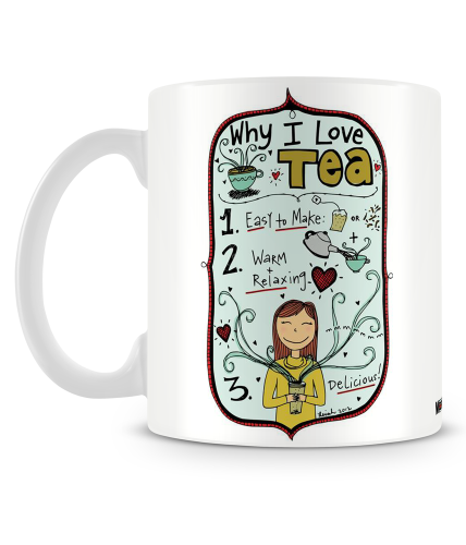 Why I Love Tea Mug