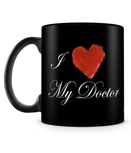 I Love My Doctor Mug