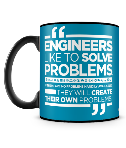Engineers Like To Solve Mug