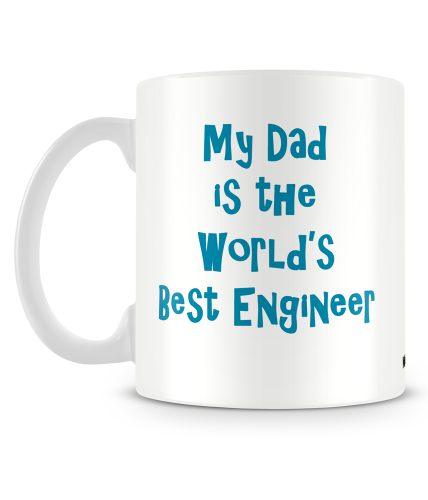 Dad Engineer Mug