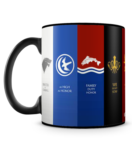 Game Of Thrones Houses 2 Mug