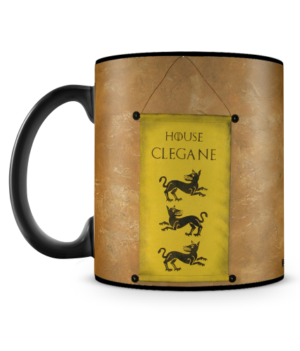 Game Of Thrones Clegane Mug
