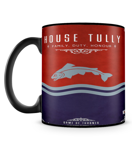 Game Of Thrones Tully Mug