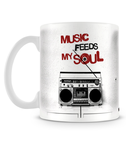 Music Feeds My Soul Mug