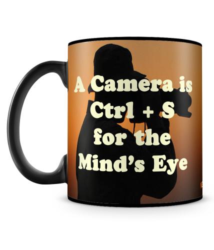 Camera Is Ctrl + S Mug