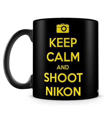 Shoot Nikon Mug