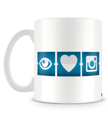 I Love Photography Mug