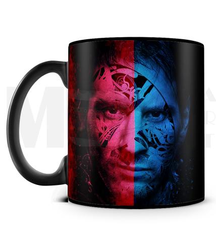 Messi Face Mug