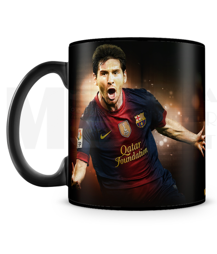 Messi In Action Mug