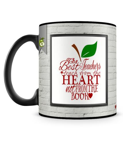 Teach From Heart Mug