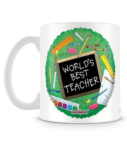 Worlds Best Teacher 2 Mug