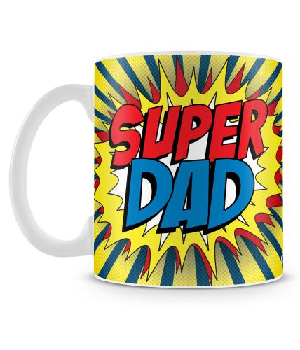 Super Dad Boom Mug