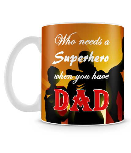Who Needs Superhero Mug