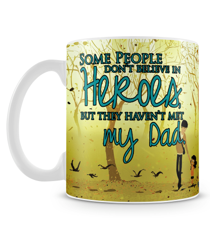 Dad Hero Mug