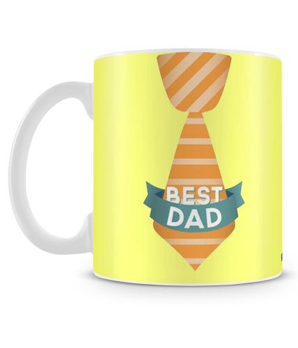 Best Dad Tie Mug