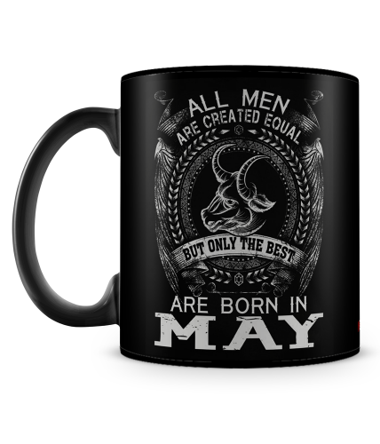 Best Are Born In May Mug