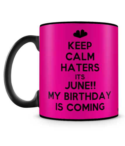 Its June Birthday Mug