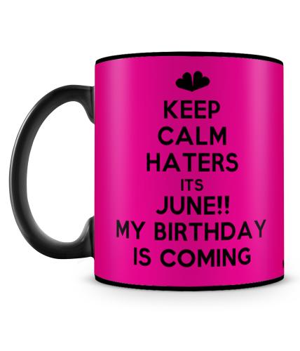 Its June Birthday Mug