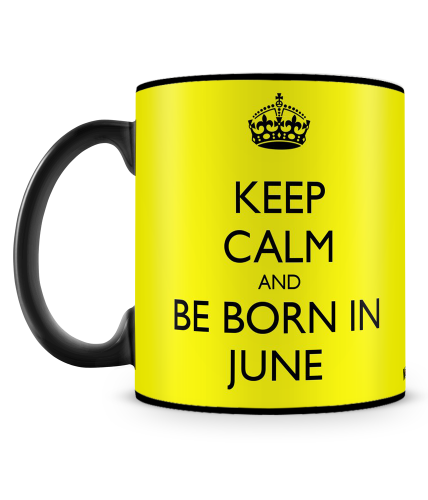 Born In June Mug