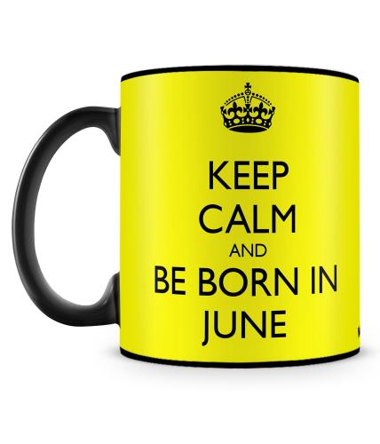 Born In June Mug