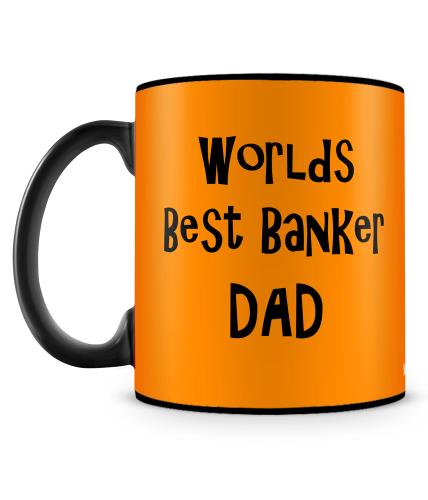 Best Banker Dad Mug