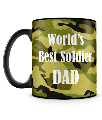 Best Soldier Dad Mug