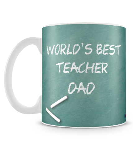 Best Teacher Dad Mug