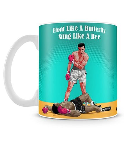 Float Like A Butterfly Mug