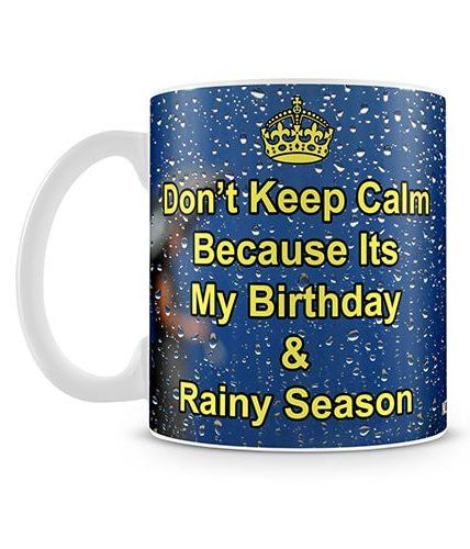 Birthday & Rainy Seasons Mug
