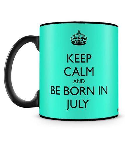 Born In July Mug