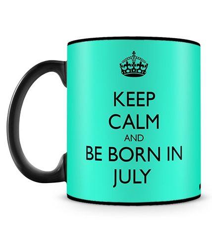 Born In July Mug