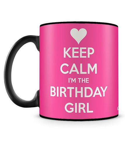 I Am The Birthday Girl Mug