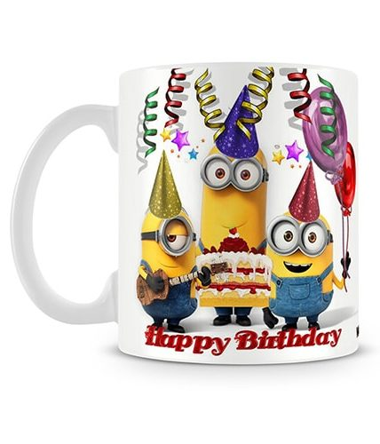 Birthday Minions Mug