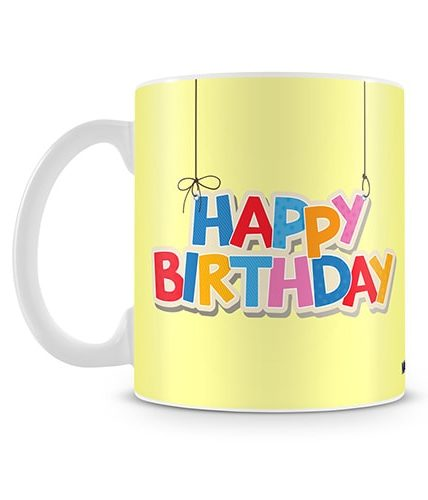 Birthday Strings Mug