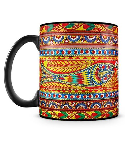 Fish Art Mug